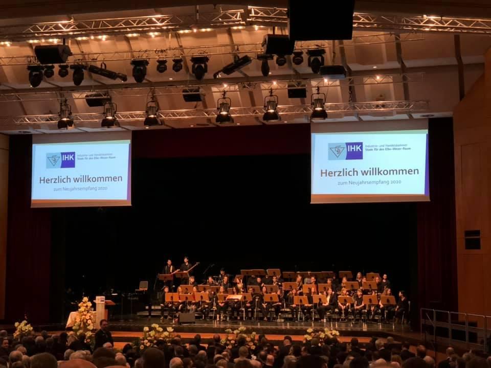Wirtschaftsjunioren Cuxhaven Neujahrsempfang der IHK